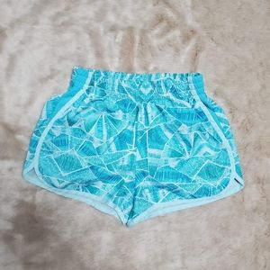C9 TURQUOISE 2-IN 1 RUNNING SHORTS